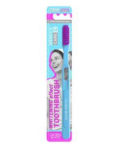 Buy Toothbrush GLOBAL WHITE medium 2 pcs, mix color | Online Pharmacy | https://buy-pharm.com