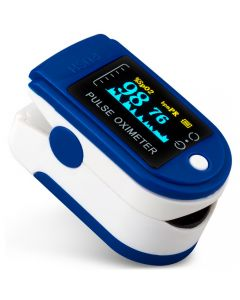 Buy HomeStore LCD Finger Pulse Oximeter (HS594 / blue) | Online Pharmacy | https://buy-pharm.com