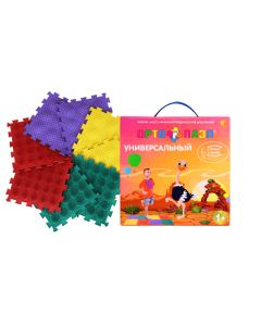 Buy Foot massage mat Ortho Puzzle 'Hedgehogs', mix, 27 x 27 x 1.5 cm, 8 modules | Online Pharmacy | https://buy-pharm.com