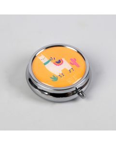 Buy Ukid MARKET / Pillbox 'Llama', with a mirror surface | Online Pharmacy | https://buy-pharm.com