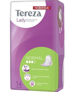 Buy Urological pads TerezaLady Normal, 14 pcs. | Online Pharmacy | https://buy-pharm.com