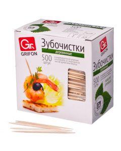 Buy Toothpicks in individual packing Grifon, 500 pcs. | Online Pharmacy | https://buy-pharm.com