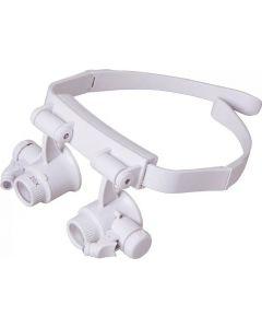 Buy Binocular head magnifier TEWSON TH-9202 with illumination (2 LED) white | Online Pharmacy | https://buy-pharm.com
