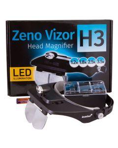 Buy Levenhuk Zeno Vizor H3 Forehead Magnifier | Online Pharmacy | https://buy-pharm.com
