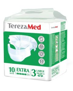 Buy TerezaMed Extra Large diapers # 3, 10 pcs | Online Pharmacy | https://buy-pharm.com