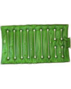 Buy Salt hot water bottle Torg Lines 'Small mattress', color green | Online Pharmacy | https://buy-pharm.com