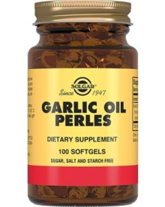 Buy Solgar, Garlic Oil Perles 'Garlic Oil Perles', 100 capsules | Online Pharmacy | https://buy-pharm.com
