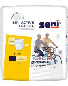 Buy Urological pants for adults Seni Active Normal, for moderate to severe incontinence, size L (3), 30 pcs | Online Pharmacy | https://buy-pharm.com