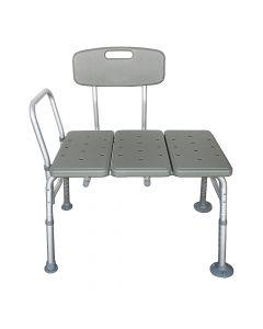 Buy 3 blown aluminum alloy plates, seniors chair, gray | Online Pharmacy | https://buy-pharm.com