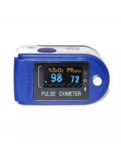 Buy Pulse oximeter with a color OLED display on a finger (3 indicators) H8, batteries included | Online Pharmacy | https://buy-pharm.com