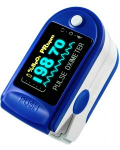 Buy Medical pulse oximeter (oximeter) finger heart rate monitor for measuring oxygen in the set | Online Pharmacy | https://buy-pharm.com