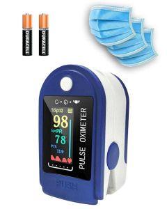 Buy Finger pulse oximeter, 3 indicators, color screen, batteries | Online Pharmacy | https://buy-pharm.com
