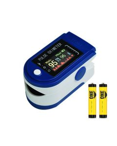 Buy Pulse oximeter oximeter with color OLED display on a finger, batteries as a gift | Online Pharmacy | https://buy-pharm.com