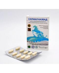 Buy SAUMAL (mare's milk), 10 capsules of 300 ml , KAZBAD | Online Pharmacy | https://buy-pharm.com