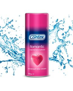 Buy Contex Intimate Lubricating Gel with Strawberry Flavor, 100 ml | Online Pharmacy | https://buy-pharm.com