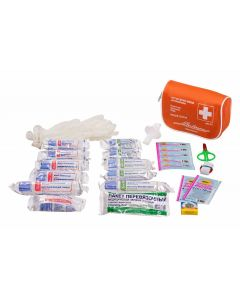 Buy AIRLINE AM01 Car first aid kit in a textile case (Complies with the traffic police requirements) - Airline art. NSII0006736031   Online Pharmacy   https://buy-pharm.com