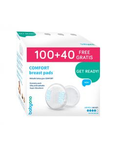 Buy BabyOno Comfort breast pads 100 + 40 pieces for free! | Online Pharmacy | https://buy-pharm.com