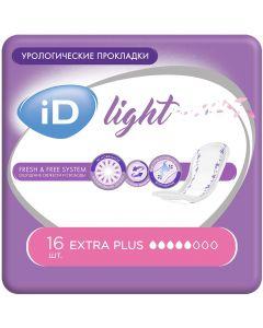 Buy Urological pads iD Light Extra Plus, 16 pcs | Online Pharmacy | https://buy-pharm.com