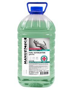 Buy MANUFACTOR, Alcohol Hand Sanitizer Gel, 5 L | Online Pharmacy | https://buy-pharm.com