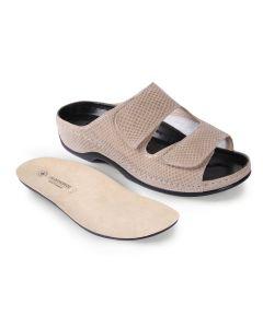 Buy Women's clogs Luomma, color: beige. LM-501.002V. Size 42 | Online Pharmacy | https://buy-pharm.com