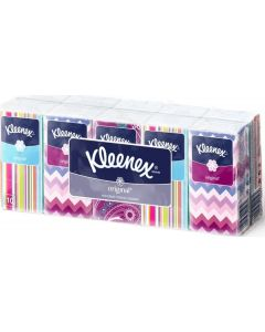 Buy Kleenex Two-layer nasal handkerchiefs white Original 10 x 10 pcs | Online Pharmacy | https://buy-pharm.com
