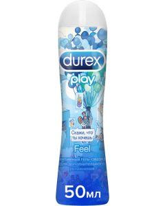 Buy Durex Play Feel Intimate Lubricant Gel Open World, 50 ml | Online Pharmacy | https://buy-pharm.com