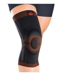 Buy Orthoses for lower limbs ORLIMAN Dynamic knee brace with spring stiffeners, black, size M / 3 (44-47 cm) 9104 | Online Pharmacy | https://buy-pharm.com