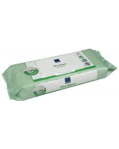 Buy Abena Long wet wipes, block with lid, 20 x 27 cm, 80 pcs | Online Pharmacy | https://buy-pharm.com