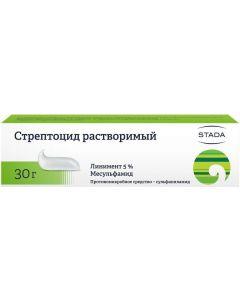 Buy Liniment Streptocid soluble 5%, 30 g | Online Pharmacy | https://buy-pharm.com