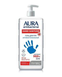 Buy Antiseptic agent AURA Hand gel antibacterial isopropyl alcohol bottle 1000 ml  | Online Pharmacy | https://buy-pharm.com