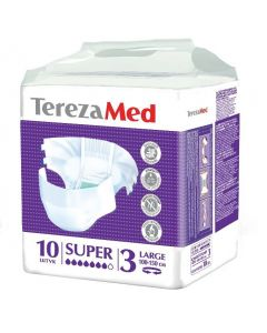 Buy Diapers for adults TerezaMed Super Large No. 3, 10 pcs | Online Pharmacy | https://buy-pharm.com