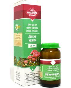 Buy Bizoryuk. Amanita cream 'Light legs' 30 ml. | Online Pharmacy | https://buy-pharm.com