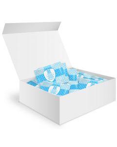 Buy Alcohol wipes 60 pcs 185x200mm antiseptic Asepsis, showbox | Online Pharmacy | https://buy-pharm.com