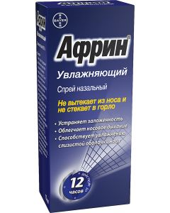 Buy Afrin Moisturizing Nasal Spray for Rhinitis, 15 ml, Bayer | Online Pharmacy | https://buy-pharm.com