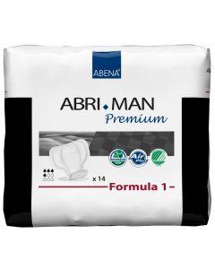 Buy Abena Urological pads for men Abri-Man Formula 1 14 pcs 41006 | Online Pharmacy | https://buy-pharm.com