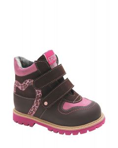 Buy Girls' boots Twiki, color: brown-pink. TW-322-1. Size 21 | Online Pharmacy | https://buy-pharm.com