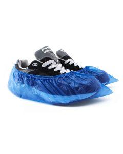 Buy Blue disposable polyethylene shoe covers ( 100 pcs per pack)  | Online Pharmacy | https://buy-pharm.com