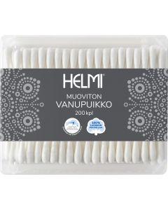 Buy Helmi 200 cosmetic cotton swabs 200 pcs , 100% cotton, 12 pcs per box  | Online Pharmacy | https://buy-pharm.com