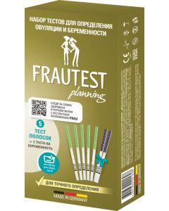Buy Frautest Test for determining ovulation and pregnancy Planning, test -strips, 5 pcs + 2 pcs | Online Pharmacy | https://buy-pharm.com