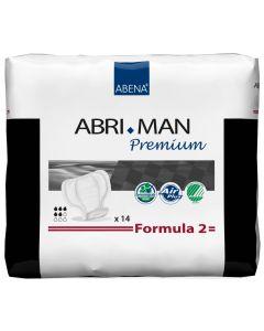 Buy Abena Urological pads for men Abri-Man Formula 2 14 pcs 41007 | Online Pharmacy | https://buy-pharm.com