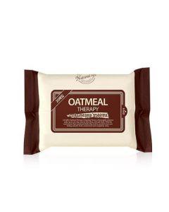 Buy Calmia Oatmeal Therapy Cleansing Tissue - 120 pcs.   Online Pharmacy   https://buy-pharm.com