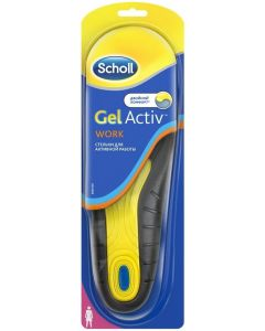 Buy Scholl GelActiv Work Active work insoles for women. Size 35/40 | Online Pharmacy | https://buy-pharm.com