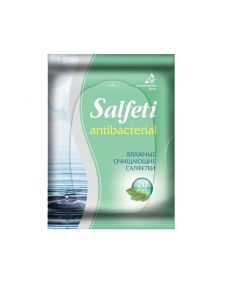 Buy Wet wipes 'Salfeti' ANTIBACTERIAL 20pcs | Online Pharmacy | https://buy-pharm.com