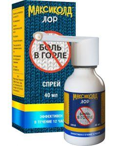 Buy Maxicold Lor spray d / places. approx. 0.2% 40ml # 1 | Online Pharmacy | https://buy-pharm.com