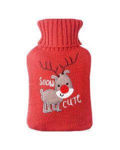 Buy Cute Christmas warmer with a deer, red 1l | Online Pharmacy | https://buy-pharm.com