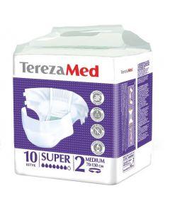 Buy Diapers for adults TerezaMed Super Medium No. 2, 10 pcs | Online Pharmacy | https://buy-pharm.com