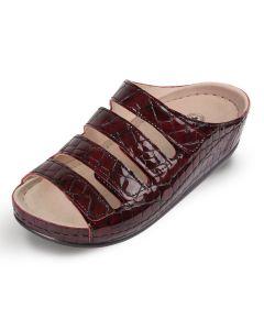 Buy Women's clogs Luomma, color: burgundy. LM-503N.042. Size 35   Online Pharmacy   https://buy-pharm.com