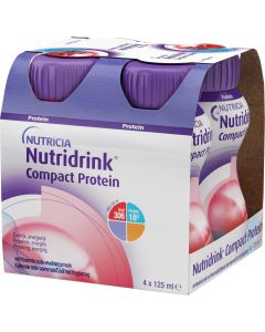 Buy Protein Nutridrink Compact, with cooling fruit and berry 4 pcs, 125 ml each  | Online Pharmacy | https://buy-pharm.com