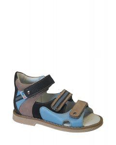 Buy TW-128 (color 2-brown-blue, 21) Orthopedic sandals, simple  | Online Pharmacy | https://buy-pharm.com