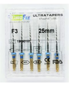 Buy Channel retractors Eurofile ULTRATAPERS ENGINE F3 25mm   Online Pharmacy   https://buy-pharm.com